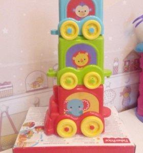 Две игрушки Fisher-Price