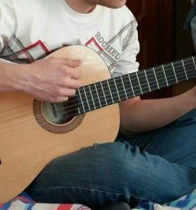 Акустическая гитара hohner hc 06