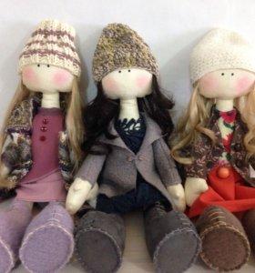Куклы и игрушки ручной работы