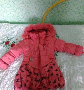 Продам Зимняя куртка на девочку