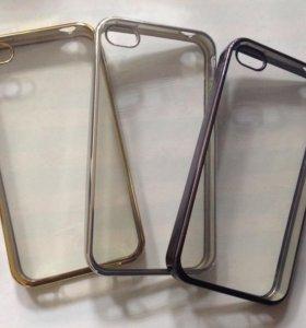 Силиконовый чехол на iPhone 4,5,5s,se,6,6s,7