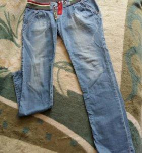 Лёгкие джинсики для беременной.