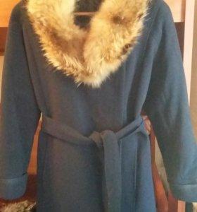 Зимние пальто с мехом
