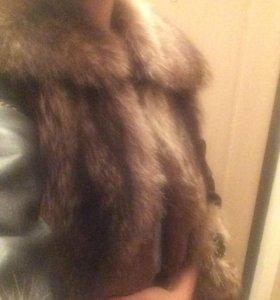 Куртка Из натуральной кожи с мехом норки