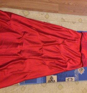Платье праздничное р.46-48(юбка,корсет,накидка)
