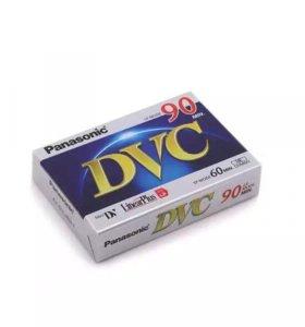 Видеокассета чистая mini DV PANASONIC DVM