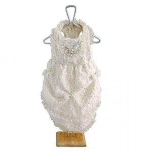 Одежда для собак свадебное платье