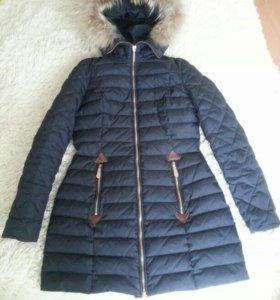 Пуховое пальто Moncler куртка женская