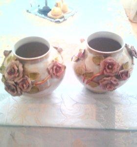 Очень красивые вазы