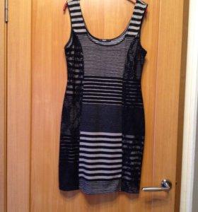Платье трикотажное на 44-46
