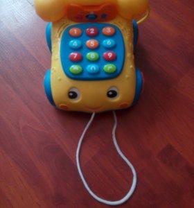 Детский музыкальный телефон.