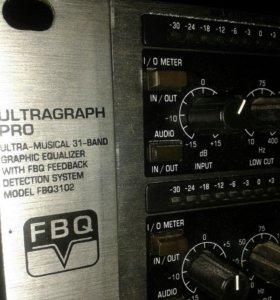 Эквалайзер Behringer fbq 3102