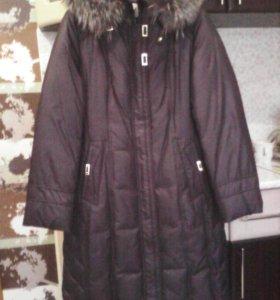 Пальто(пуховик). 46 размер.