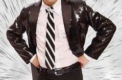 Пиджак мужской чёрный 44 размера