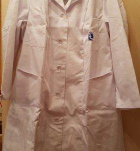 Медицинский халат женский новый!