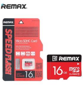 Карта памяти REMAX © microSDHC (16GB)