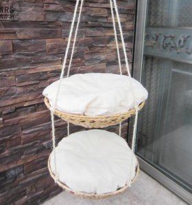 Гамак для кошек, подвесной