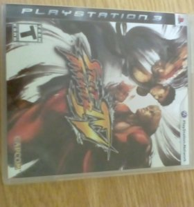 Диск на ps3 Street Fighter 4