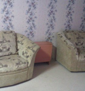 Диван, два кресла