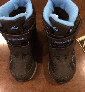 Новые зимние ботинки Viking