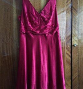 Платье Monsoon 52 р-р 100% шёлк