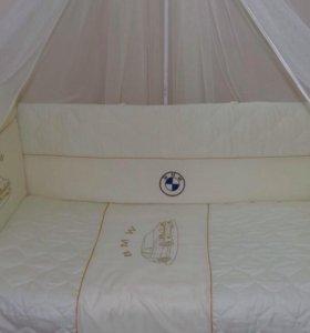 Продам новый комплект в кроватку Российского произ