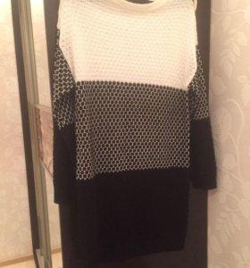 Платье и свитер