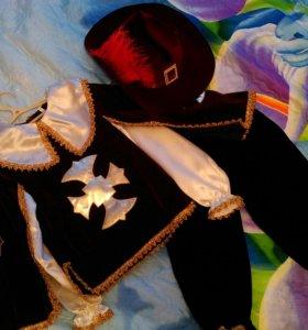 Карнавальный костюм мушкетера