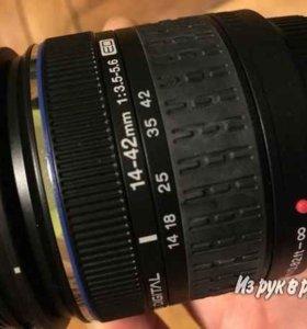 Объектив Olympus ED 14-42mm 3.5-5.6
