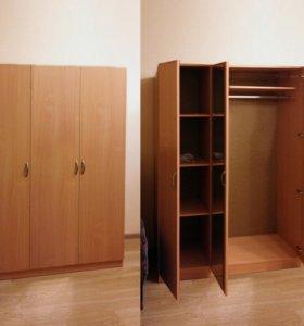 Шкаф 3х-дверный новый, бук бавария