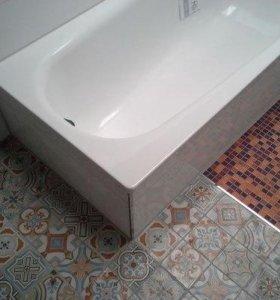 Укладка кафеля ( ванная под ключ)