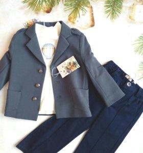 Пиджак, брюки,водолазка