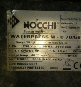 Автоматическая насосная станция NOCCHI WATERPRESS