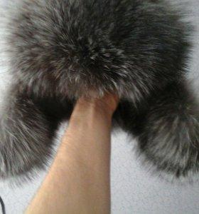 шапка-ушанка мужская