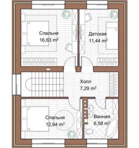 КИРПИЧНЫЙ СТАНДАРТ 120 м²
