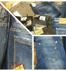 Куртки, рубашки, джинсы, пиджаки,. Верхняя одежда;