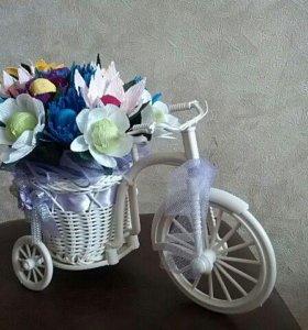 Конфетный велосипед