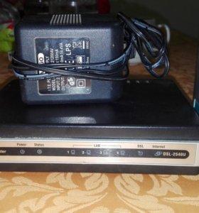 Маршрутизатор D-Link adsl Router, model DSL -2540U