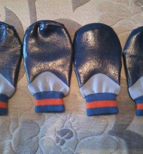 Резиновые носочки для собаки