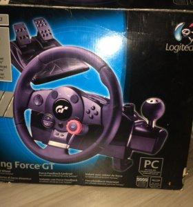 Руль Logitech® Driving Force™ GT