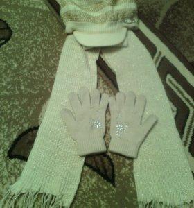 Шапка+шарф (комплекты)