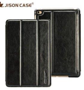 Чехол-книжка JisonCase® iPad mini 4 (кожа)