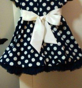 Платье на девочку от 1 года до 3 лет.