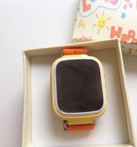 Детские часы смарт gps watch q60s
