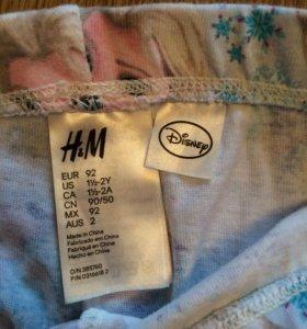 H&M, Пижама, костюм для девочки, 92