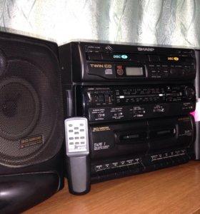 Аудиосистема Sharp