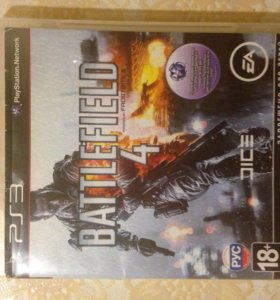 Диск battlefield 4 ps3