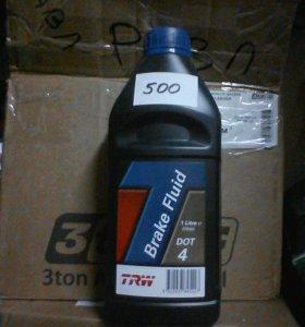 Тормозная жидкость 1 литр