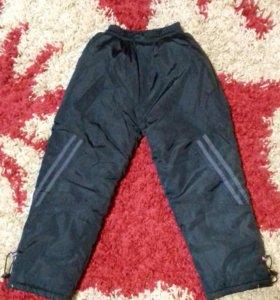 Ватные штаны на мальчика