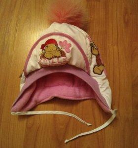 Шапочка,шапка детская зимняя